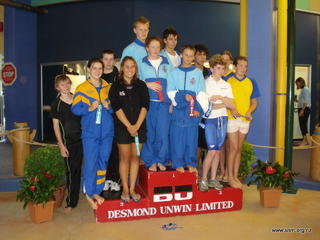 Gold for SNM relay at 2008 SI C&T champs