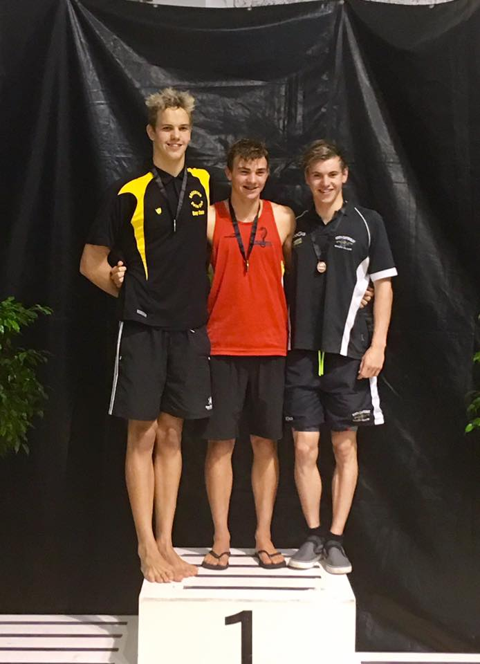 McGuinniety wins NZ swimming gold
