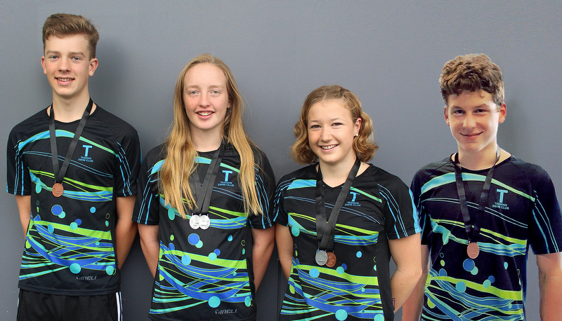 Tasman swimmers claim medals at NAGs