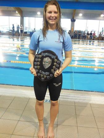 Sam Trevurza named Swimmer of the Year