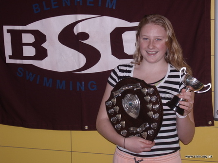 Sara Gane - Swimmer of the Year