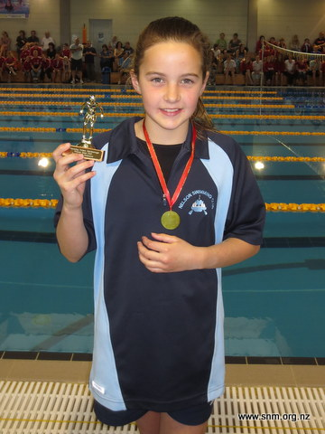 Young Swimmers take trophies at Winter Meet