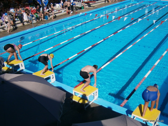 Great day for Country & Town meet hosted by Nelson South at Hampden St pool