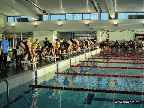 Swimmers get set for Winter Meet